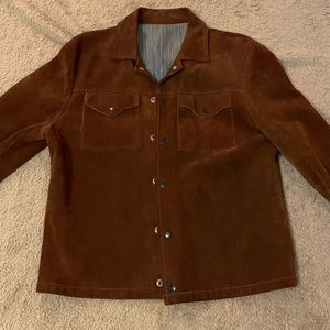 Vintage Nubuck suede/leather jacket